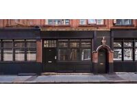 COOL SHOREDITCH SHOP TO LET - **No Premium** No Hot Food ** off Hoxton Square - A1 Retail - 250 SqFt