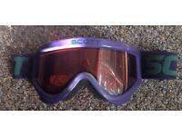Scott ski goggles