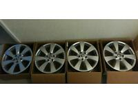 "SHOULD GO THIS WEEK!! MASSIVE PRICE DROP!! 4 X 18"" RONAL VAUXHALL ASTRA GTC ALLOY WHEELS (5 X 115)"