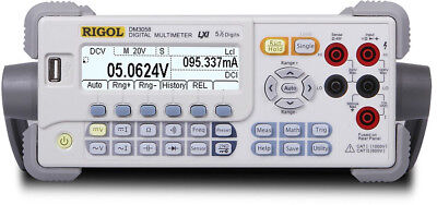 New Rigol DM3058E Real 5 Digits Readings Resolution US Autho