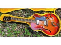 Guild T-100D, Slim Jim guitar 1964