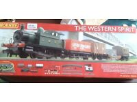 Never used Hornby train set GWR