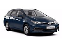 PCO CARS HIRE RENT TOYOTA AURIS 13 HYBIRD ESTATE £150 PER WEEK UBER READY