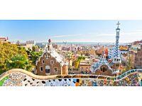 Return flights Birmingham-Barcelona end of May