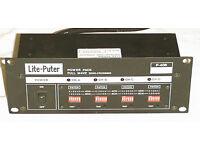 Disco light controler Light Puter 406