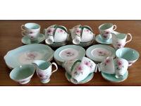 Beautiful 1950s tea set Royal Albert Elfin 12 setting: 52 pieces