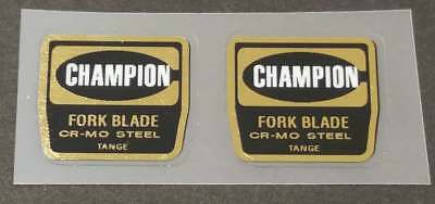 Tange Champion NO 2 tubing decal perfect for restorations