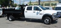 2015 Dodge Ram 5500HD 4x4 diesel 12ft dump