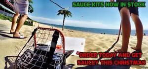FREE SHIPPING Hockey Sauce For Christmas The Original Hockey Sauce Kit Saucer Pass Game Puck Catcher