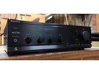 Sony TA-A300 Integrated Stereo Amplifier with phono stage