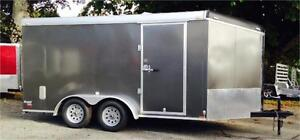 New 2015 7x14 W/RAMP,INSULATED CEILING + MORE OPTIONS