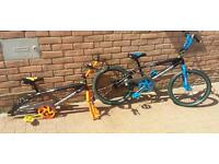 2 x muddyfox BMX bikes Spares or repairs