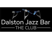 Live jazz every Fridays and Saturdays