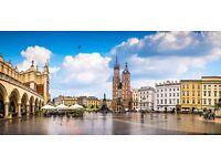 Krakow Trip with Auschwitz Tour Inc. 3 Night Break