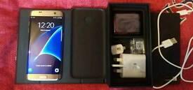 Samsung galaxy s7 edge platinum gold