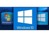 Windows 7 8 10 / 32 bit / 64 bit - Disc / ISO