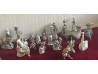 Lladro China Porcelain Figurinas