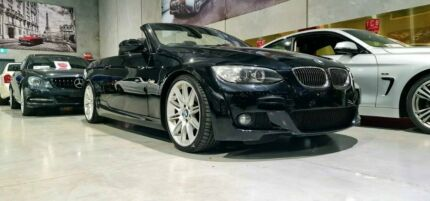 2009 BMW 3 Series E93 MY09 325i Steptronic Black 6 Speed Sports Automatic Convertible Laverton North Wyndham Area Preview
