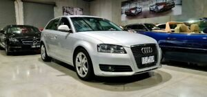 2009 Audi A3 8P MY09 TDI Sportback S Tronic Ambition Silver 6 Speed Sports Automatic Dual Clutch