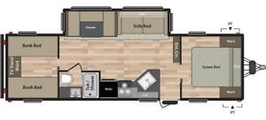 2018 SUMMERLAND 2980BH TRAVEL TRAILER