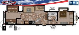 2017 KEYSTONE SPRINTER 324BHS - Incredible Family Fifth Wheel