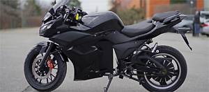 Motorcycle style Electric bike $2899.99! No License or insurance