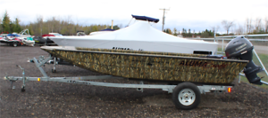 2019 ALUMACRAFT Waterfowler 16' w/ Yamaha 30 and Galvanized Trlr
