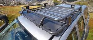 Isuzu D-Max RG Colorado Dual Cab ARB Deluxe Steel Cab Roof Rack Yagoona Bankstown Area Preview