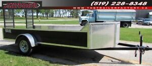 New Equipment/Utility 6'x12' Chariot Black, Financing Available