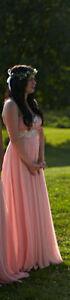*** Gorgeous Pink Evening Dress **