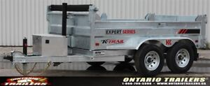 K-Trail ALL GALVANIZED DUMPS COMING TO ONTARIO TRAILERS!