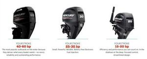 Mercury Loose Outboards 2.5HP TO 40HP Sale