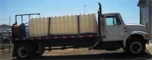 1990 IHC 4900 Deck Truck with Water Tank