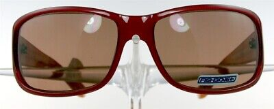 FISHBONE Liberia Brille Sonnenbrille Rot Kunststoff Damen Sunglasses Ladies (Fishbone Sunglasses)
