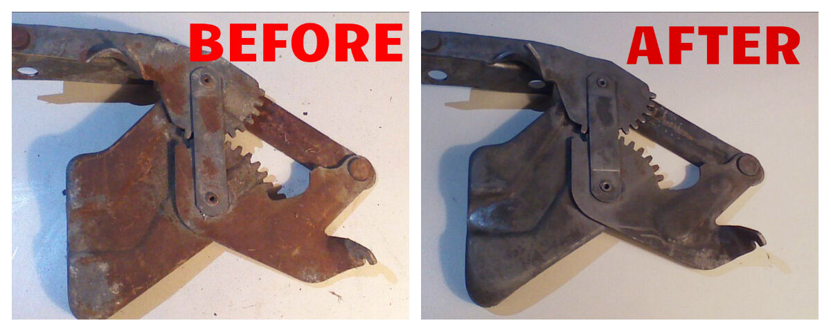 Owner Industrial Rust Eliminator concentrate 1 Gallon compare Evapo-rust Metal Rescue