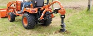 LandPride PD10 Post Hole Digger w/Auger