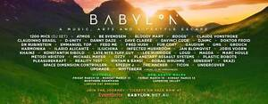Babylon Festival Victoria - 4x Tickets Kensington Melbourne City Preview