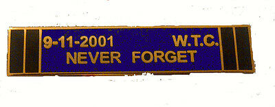 Uniform Citation Bar - 9-11 Never Forget Purple