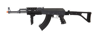 Double Eagle AEG Tactical AK47 RIS Auto Electric Airsoft Rifle Gun Metal M900E