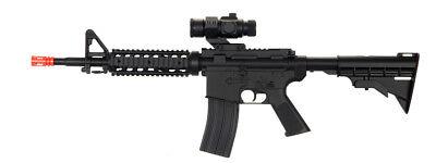 UKARMS Auto Electric Airsoft Rifle Gun Faux Scope AEG M4 Replica TOY RIS D2802 Airsoft Electric Toy Gun