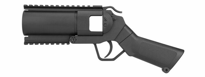 Sentinel Gears 40MM Airsoft Grenade Launcher Pistol Aluminum Construction