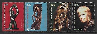 JAMAICA 2000 BIRTH CENTENARY OF EDITH MANLEY CAT £10 USED SET, SG957-960.