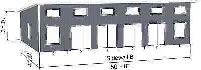 Steel Home, Beach House, Cabin Shell Kit