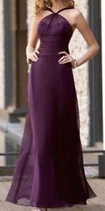 Jasmine Belsoie Bridesmaid / prom Dress in Pewter