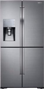 Réfrigérateur 4 portes 36'' Stainless [Samsung]