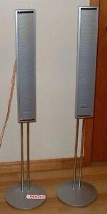 Panasonic high end audio speakers adjustable stand monitors