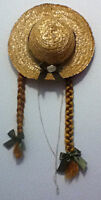 Authentic Anne of Green Gables Straw Hat with Braids