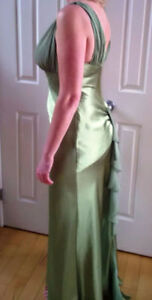 Beautiful Green Dress, Size 12, Excellent Condition
