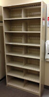 Filing Cabinet and Bulletin Board
