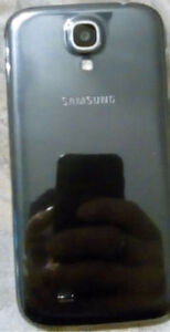 Silver Samsung Galaxy S4 with an Otterbox case